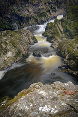 Conwy Falls Long Exposure (Optical Snaps) Tags: conwy falls waterfalls wales gorge water landscape nikon d7100 neutral density filter