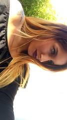 Réveille toi. Attrape moi. Embrasse moi. (gosselinclara) Tags: lipstick kiss tatoo greeneyes selfie face me lips french heart makeup life 7 glance inlove blonde sun girl