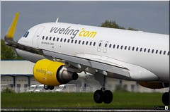 Airbus A320-214(WL), Vueling, EC-MAO (OlivierBo35) Tags: rennes spotting rns a320 vueling airbus