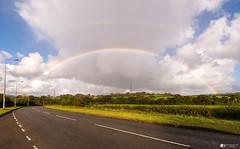 Rainbow crossing (technodean2000) Tags: rainbow crossing south wales uk cowbridge road nikon d610 lightroom