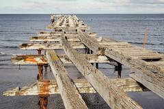 Antiguo muelle de Punta Arenas (Matías Garrido Hollstein) Tags: punta arenas puntaarenas magallanes chile extreme south endoftheworld estrecho estrechodemagallanes southofchile pier decay decayed rust sea