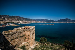 Thinking about heading south (Melissa Maples) Tags: alanya turkey türkiye asia 土耳其 亚洲 nikon d5100 ニコン 尼康 sigma hsm 1020mm f456 1020mmf456 spring roman ancient ruins hill alanyacastle castle mediterranean sea water bay mountain