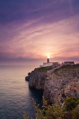 Faro de San Vicente (Masterdreams) Tags: verde cabosanvicente farosanvicente sagres algarve sunset portugal canon sun faro lighthouse colors landscape landscapephotography travelphotography wonderfulplaces traveling