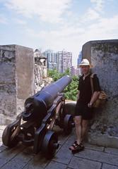 Fortaleza do Monte, Macau (Niall Corbet) Tags: china macau fortalezadomonte fort fortress castle cannon