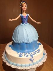 Cinderella Cake (Sweet Cheeks Cake Shop) Tags: cake birthday cinderella princess doll buttercream sweetcheekscakeshop