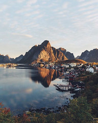 Village Reine, Norway    Johan Lolos (travelingpage) Tags: travel traveling traveler destinations journey trip vacation places explore explorer adventure adventurer