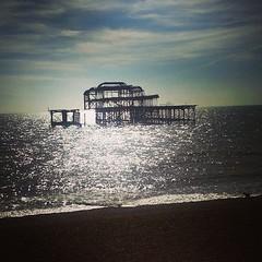 Brighton peer (BjörkÓlafsdóttir) Tags: brighton ruins