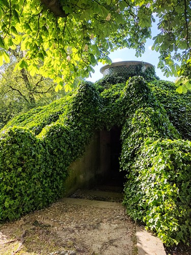 """One of many cool landmarks in Parc de Bercy. There's a """"secret room"""" inside, but it was closed. Still cool to look at though!"""