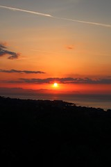 red (dimatteoeleonora) Tags: cefalù sicilia sicily flickrdiamond home sunset tramonto love landscape sky skyporn skyscape plane italy incrediblenature nature natura blu blue red rosso shape peace country