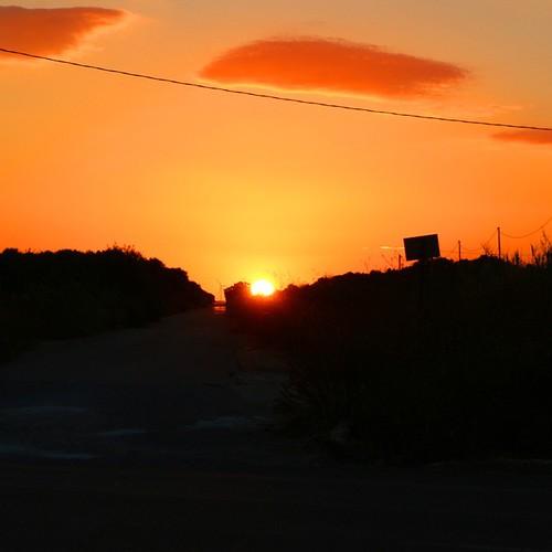 Un caldo #tramonto!