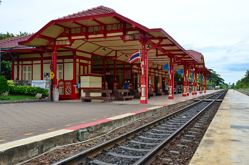 Hua Hin Station By Day
