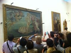 The Birth of Venus, Uffizi (AJoStone) Tags: phone mobile venus florence italy