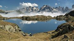 Lago Nero e Dolomiti del Brenta (recondoontheroad) Tags: lago alto nero trentino dolomiti brenta adige