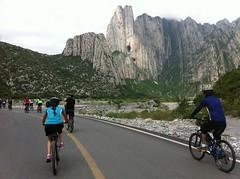IMG_4128 (pueblobicicletero) Tags: santacatarina 2014 lahuasteca seguridadvial ciclismourbano sanpedrogarzagarca movilidadsostenible biciblanca parqueecolgicolahuasteca ciclismodeportivo