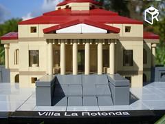 Villa La Rotonda - real brick model / igazi kockkbl (legorevival) Tags: italy set architecture la lego andrea rotonda villa renaissance lr vicenza palladio moc capra olaszorszg almerico renesznsz kszlet legorevival lrevival