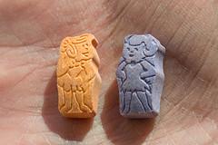 Wilma and Betty in Macro (michaelTO) Tags: macro wilma hand betty flintstones vitamins bettyrubble wilmaflintstone inthepalmofmyhand macromondays