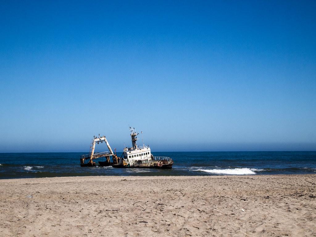 Shipwreak, Namibia