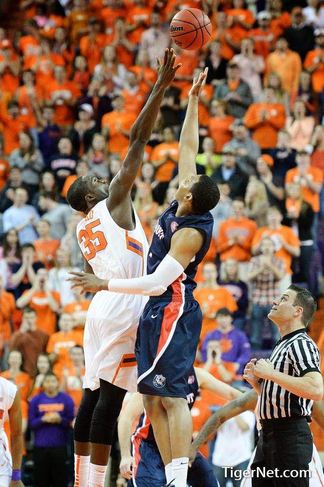 Clemson Photos: 2014, Basketball, Landry  Nnoko
