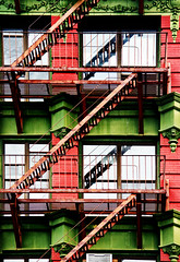 Fire Escapes--Bowery (PAJ880) Tags: nyc fire manhattan side east bowery lower escapes
