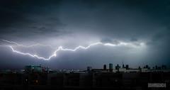 Ciel déchiré sur Lyon (ElmerstarK) Tags: storm france lyon rhône lightning orage éclair rhônealpes