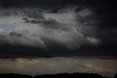 Thunderstorm, Rosendahl, Germany, 22-05-2014 (betadecay2000) Tags: cloud rain weather clouds dark wolke wolken thunderstorm lightning blitz gewitter thunder dunkel bold wetter meteo weer sturm unwetter blitze