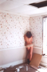 Fool me once (ashsmoot) Tags: house abandoned girl nude back soft alone unfocused
