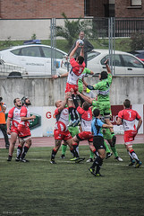 Ordizia Rugby -  Bathco (Andrea Latasa) Tags: morning red green sports sport photoshop canon photography rugby deporte d550 ordizia bathco