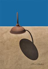Santa Fe Light (Maltenburg) Tags: blue shadow newmexico santafe adobe santafelight mariealtenburg