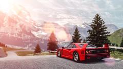 Ferrari F40 (nbdesignz) Tags: 6 hot sexy cars beautiful beauty car digital sony ferrari gran turismo gt6 f40 polyphony ps3 playstation3 gtplanet nbdesignz