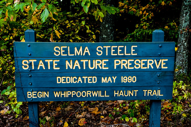 Selma Steele Nature Preserve - October 6, 2014