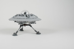 lego UFO project - atana studio (Anthony SJOURN) Tags: fiction black project studio flying fifties desert lego mail box alien cockpit science ufo area anthony 51 creator 50 ideas annes zone saucer volante soucoupe atana sjourn