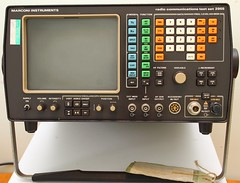 Marconi 2955 Radio Communications Test Set. (tiger289 (The d'Arcy dog supporters club)) Tags: marconi 2955 radiotest instrument testset communications electronics signalgenerator receivertest
