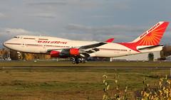 Air India VT-EVA, OSL ENGM Gardermoen (Inger Bjørndal Foss) Tags: norway boeing 747 osl gardermoen airindia engm vteva
