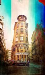 Malaga  .. vertical Panorama .