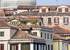 Venetian Roofs (Hans van der Boom) Tags: venice red vacation italy europa europe it roofs tiles venezia italië veneto venetië caly gamewinner friendlychallenges
