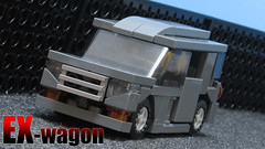 01 EX-wagon (*s-3*) Tags: car k lego headlights