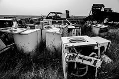 Washing Machine Graveyard (TigerPal) Tags: canada abandoned trash garbage junk military machinery worldwarii junkyard prairie saskatchewan plains runway collector sask airbase gravelroad dustyroad britishcommonwealthairtrainingplan staldwyn bactp