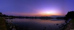 110ee (jairusxs) Tags: leica sunset love nature beautiful night landscape lumix amazing singapore mothernature lx7 lowerpeircereservoir