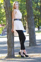 Mary (austinspace) Tags: street portrait woman washington model alley spokane downtown dancer redhead blond blonde