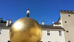 Salzburg - Austria (Been Around) Tags: salzburg austria sterreich europa europe travellers eu september europeanunion autriche austrian aut 2014 kapitelplatz a onlyyourbestshots concordians thisphotorocks sphaera worldtrekker expressyourselfaward