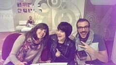 """Angy, """"La Chiqui"""" de Torrente 5 en """"Buenos Días Gente Happy"""""""