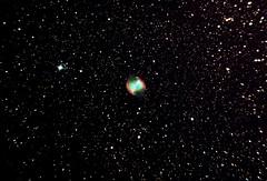 M27-24-09-2014-7x5m-150p-QHY8L-HEQ5-CS4v2-NR (Ed Gibbs) Tags: apt nebula dss dumbell cs4 m27 skywatcher heq5 explorere 150p qhy5 9x50 qhy8l finderguider