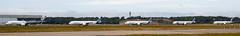 Airbus A350 Formation (Rami Khanna-Prade) Tags: airport aircraft trent airbus msn carbon toulouse aeroport blagnac 003 tls elephantwalk qatar avions airbusindustrie a350 msn04 formationflight msn002 lfbo xwb a350xwb launchcustomer a350900 fwwcf aeroporttoulouseblagnac toulouseblagnacairport trentxwb fwzgg fwznw