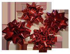 Caja 12 moñas6rojo brillo y 6 rojo mateconestampado brilloIndi (Comercial Barrio) Tags: para regalos etiquetas moños decorar