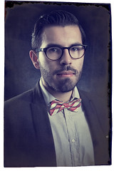Javier Snchez (mi buen zora) Tags: old portrait white man male nerd vintage beard glasses nikon retrato bowtie oldschool retro suit mexican corbata saco mexicano hombre barba nerdy d600 moo sidepart caucassian corbatn