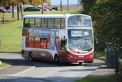 370 (Callum's Buses & Stuff) Tags: volvo edinburgh mills gemini lothian madder lothianbuses gemini2 edinburghbus polton madderandwhite madderwhite