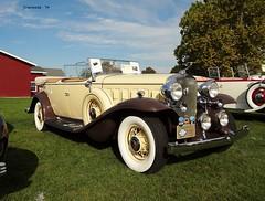 1932 Cadillac 356-B Dual-Cowl Sport Phaeton (JCarnutz) Tags: 1932 cadillac gilmorecarmuseum dualcowl sportphaeton cadillaclasallefallfestival