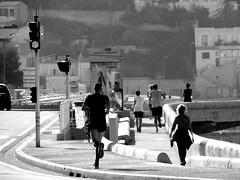 Dimanche matin sportif  Marseille (hkoskas) Tags: sport marseille kayak canoe course joggers vlo marsiglia footing massilia cornichekennedy massalia coursepied pradoplage cityofmarseille capitaledusud parcbalnairedemarseille marseillecapitalesportive2017 marseille2017