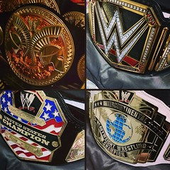 (imranbecks) Tags: world county orange logo championship belt big belts replica network title heavyweight occ wwe commemorative choppers 2014 replicas instagram
