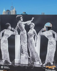 The Supremes Photo Stand-In, Photoville Brooklyn NY 2014, Brooklyn Bridge Park, New York City (jag9889) Tags: park nyc newyorkcity usa ny newyork building architecture brooklyn skyscraper waterfront unitedstates unitedstatesofamerica worldtradecenter brooklynheights exhibition container event photograph eastriver wtc 1776 2014 brooklynbridgepark kingscounty publicpark freedomtower 1wtc oneworldtradecenter photoville jag9889 20140927 photoville2014 photovillenycorg